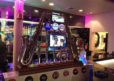 Saxophone Generation in bar